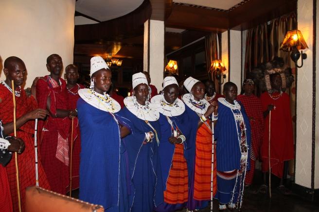 Rencontre avec les Maasaïs