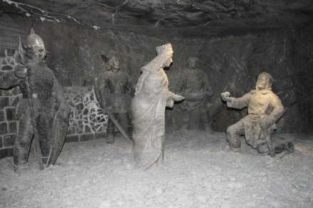 Sculpture en sel